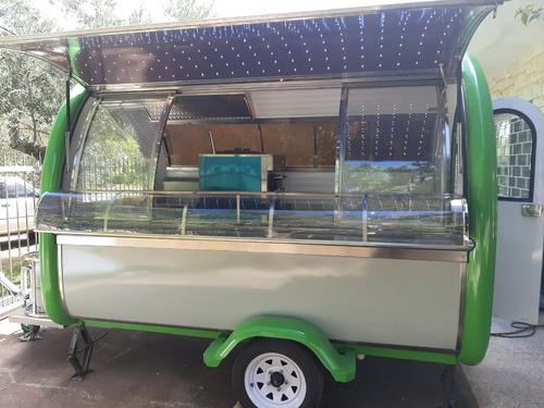 food truck entrega inmediata. con  plancha y helados soft