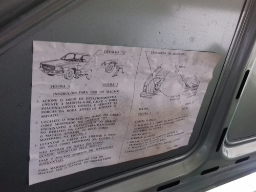ford corcel 1.6 1981 -  95000 km de fabrica reales