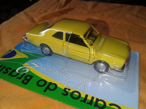 ford corcel. coleccion- metal. carros do brasil.
