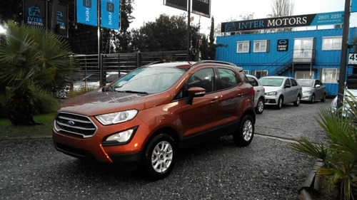 ford ecosport 1.5 se 123cv at 4x2 2018 intermotors