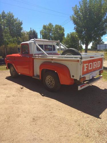 ford f 100 año 1957 diesel