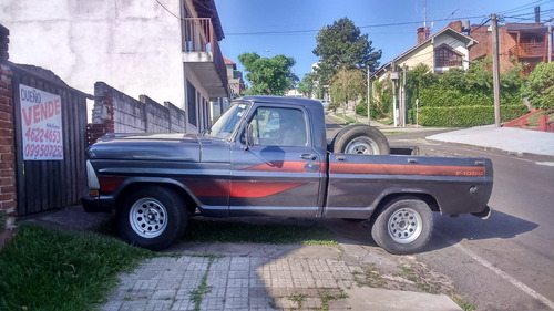 ford f1000 año 89