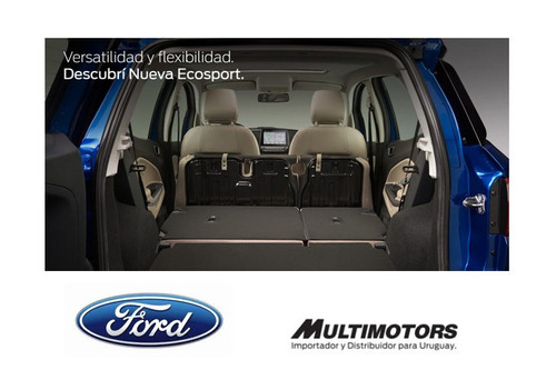 ford new ecosport 1.5 se mt- u$s23990* -