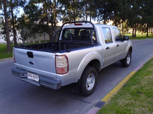 ford ranger 2.3 nafta 2012 doble cabina impecable liquido