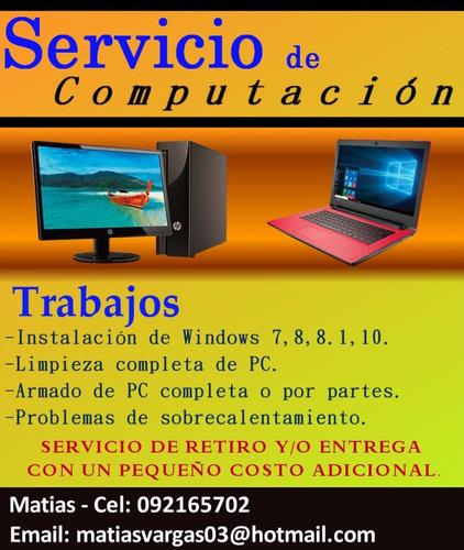 formateo e instalación de windows 7,8,8.1 y 10.