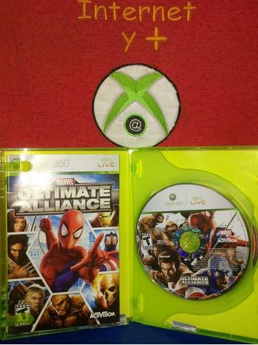 forza 2 y marvel ultimate alliance x 360 ciberamos xochimilc