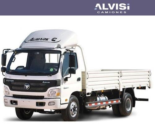 foton aumark camión cummins carga 5.5 ton. con caja sin iva