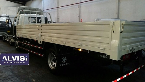foton camión cummins carga 7.5 ton. c/ caja sin iva