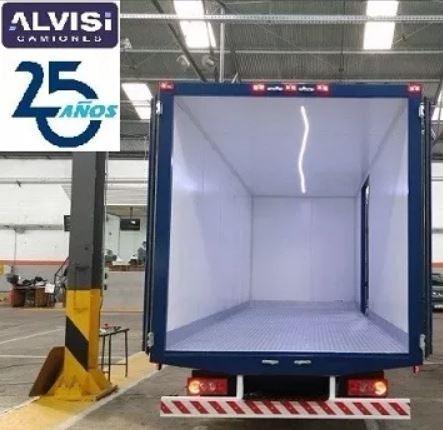 foton cummins 5.5 ton. c/furgón 5.20 metros 0km sin iva