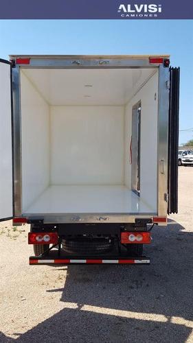 foton rueda sencilla con furgon termico precio sin iva