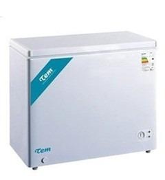 freezer horizontal tem 200l tc230ch c/tapa de vidrio yanett