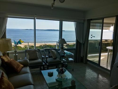 frente a playa mansa 3 dorm 3 baños garaje. oportunidad
