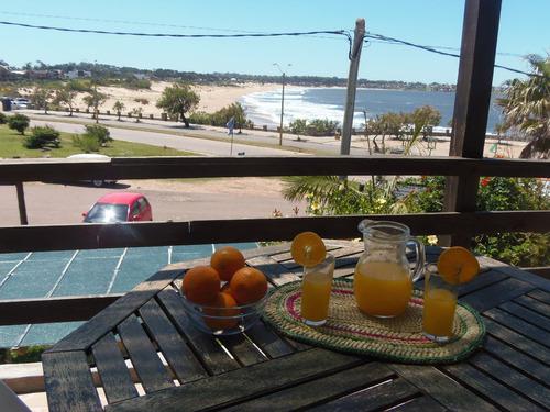 frente al mar con terraza !!!