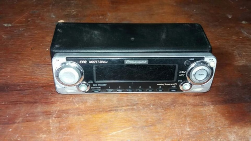 frente de radio pioneer modelo deh-p5550p 50wx4 impecable .