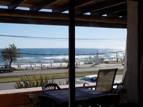 frente playa 2 aires parrillero techado al mar wifi