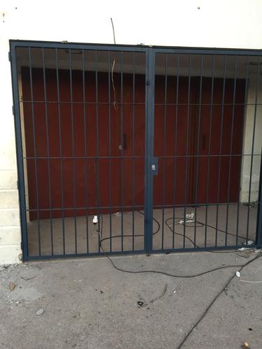 frentes portones corredizos cerramientos todo en hierro