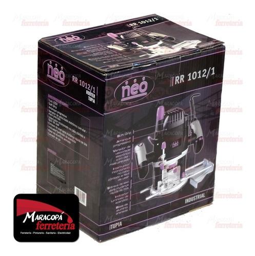 fresadora router neo 1500w modelo rr1012 enc 1/4 y 1/2