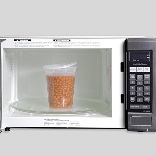 freshware - envases de plástico para guardar alimentos de 32