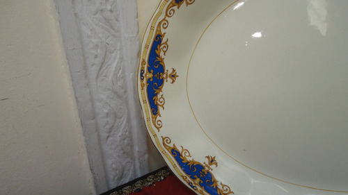fuente inglesa antigua oval diseño en guarda linda mirala