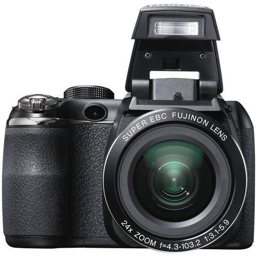 fujifilm finepix s4250 black 14mp digital camera point