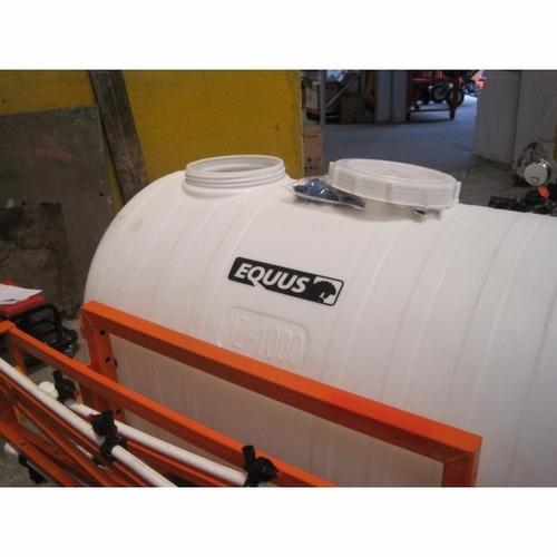 fumigadora pulverizadora equus 450l 7.5m para tractor