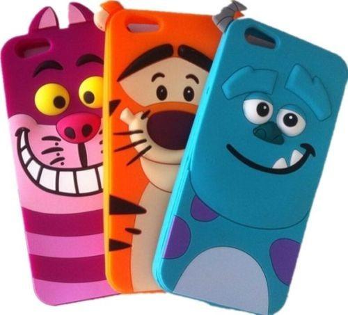 6cdaa6b43a9 Funda Carcasas 3d Animadas iPhone 5 5c - $ 329,99 en Mercado Libre
