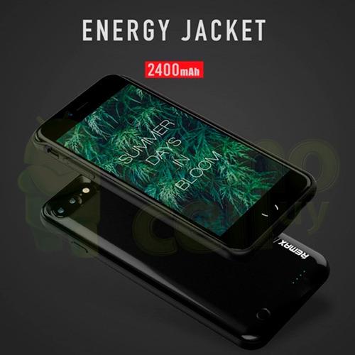 funda con bateria emergencia power bank iphone 7 / 7 plus ®
