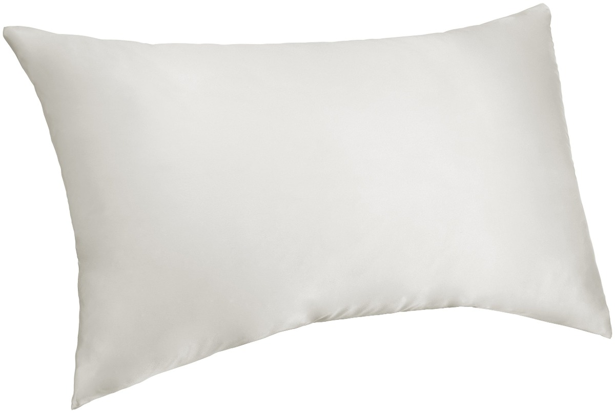 funda de almohada de seda pinzon mulberry - reina, blanco - u$s 58