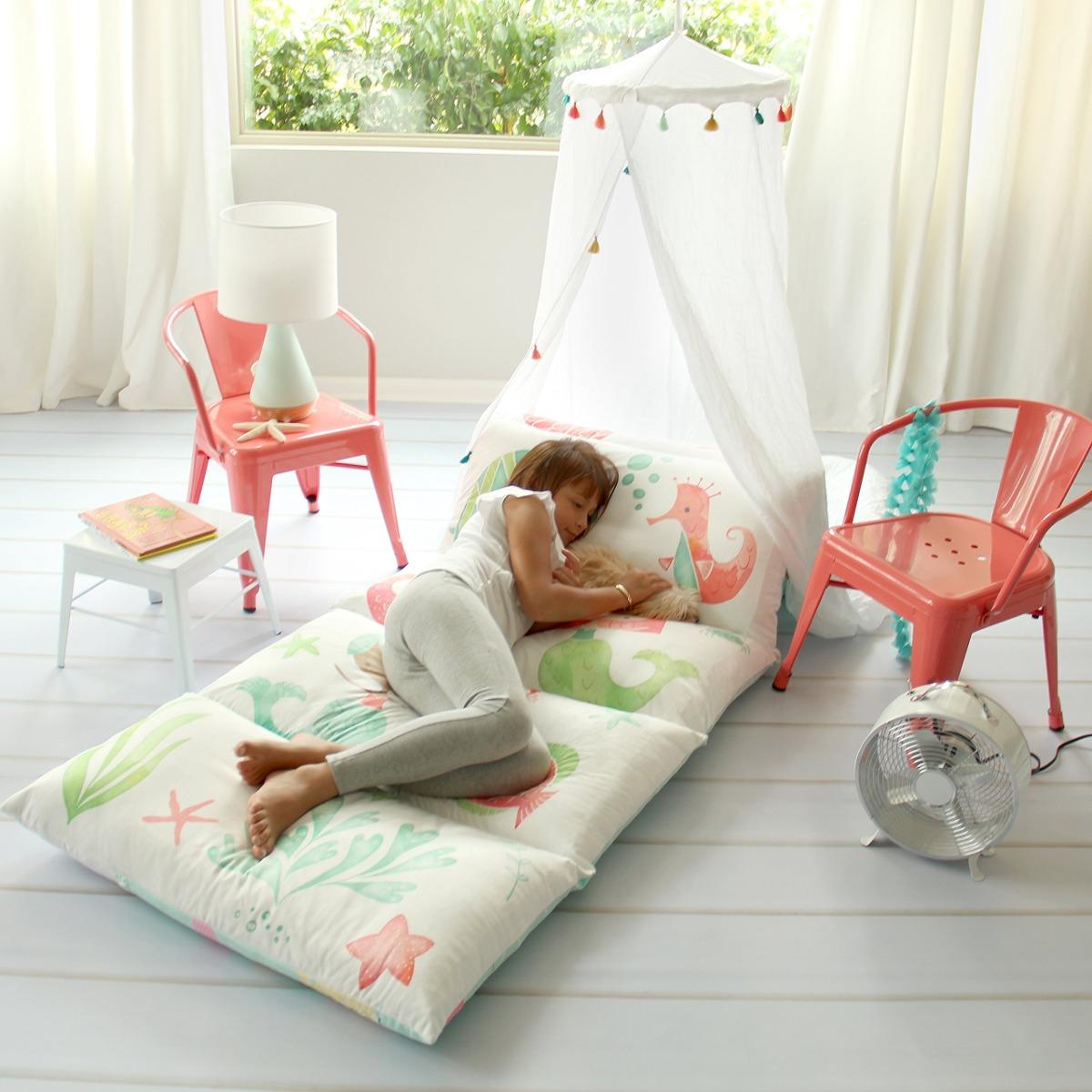 70a25a310a4 funda de almohada para piso para niños - use como tapete. Cargando zoom.
