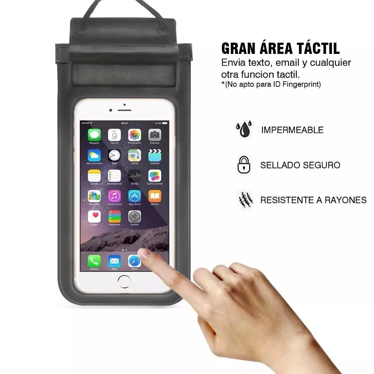 0cccda20136 funda de celular resistente al agua impermeable sumergible ®. Cargando zoom.