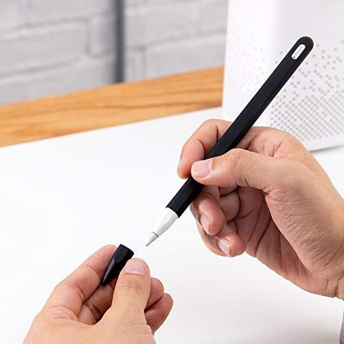 funda de silicona compatible con frtma apple pencil (2da. ge