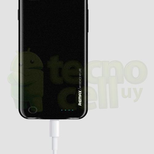 funda estuche bateria cargador remax iphone 8 7 /8 7 plus ®