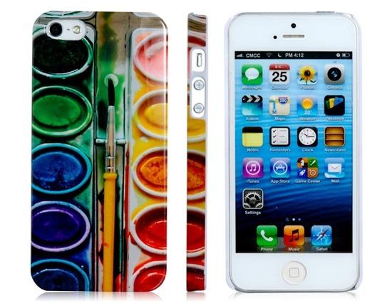 be9cc4caefb Funda iPhone 5 Diseño Original - Paleta De Pintor - $ 150,00 en ...