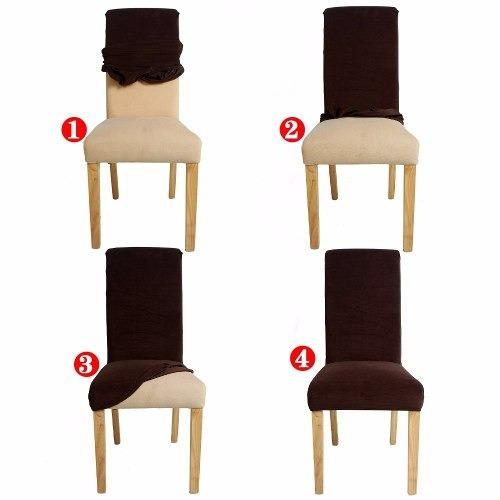 funda para silla elastizada x 6
