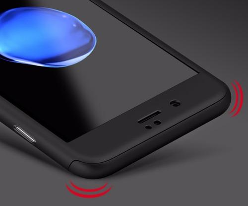 funda protector full case iphone 6/6s 360 con vidrio