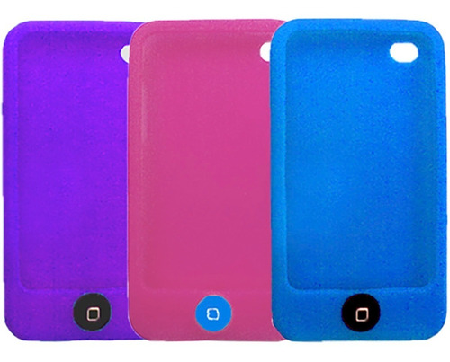 funda silicona ipod touch 4, 4g apple