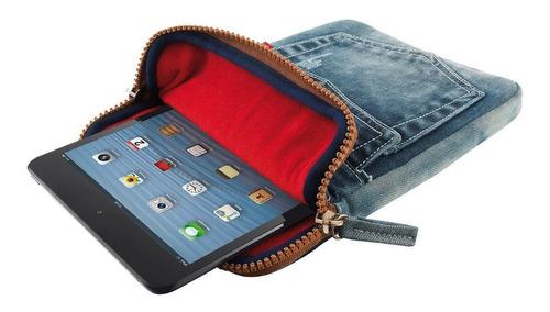 funda trust p/tablet 7/8'' jeans netpc