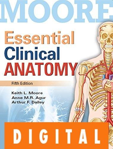 Fundamentos De Anatomía Con Orientación Clínica - Moore - $ 397,00 ...