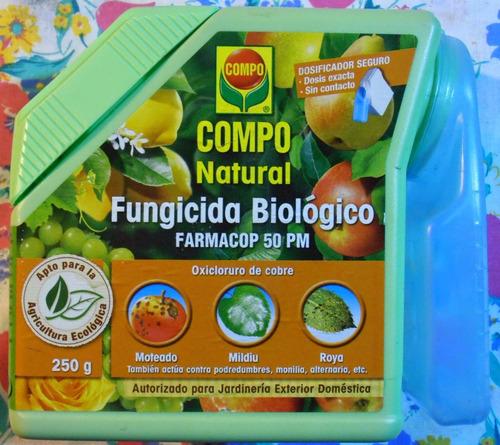 funguicida azufre en plovo elemental para plantas.