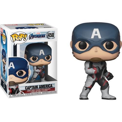 funko pop captain america avengers endgame xuruguay marvel
