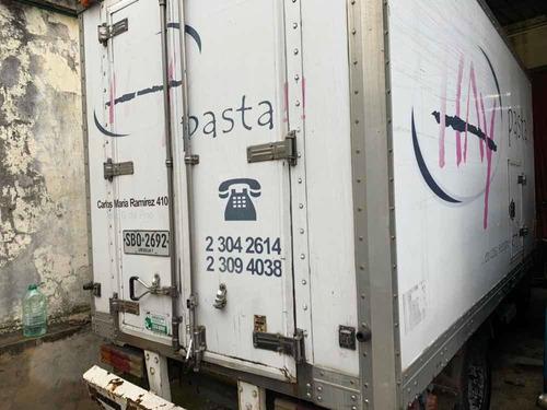 furgon termico bonano con equipo de congelado