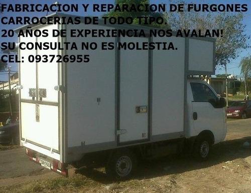 furgones,carro comidas trailers etc fabricacion y reparacion