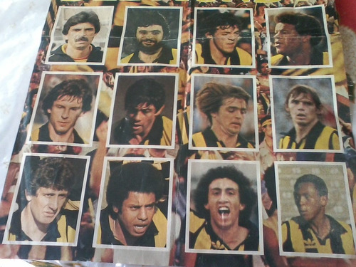 futbol-peñarol campeon del mundo 1982 - poster mundocolor