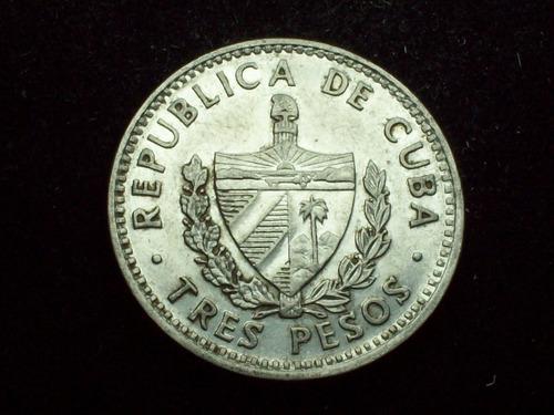 fv * cuba 1992 - 3 pesos - el che