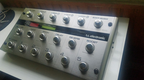 g-system pedalera tc electronic en caja