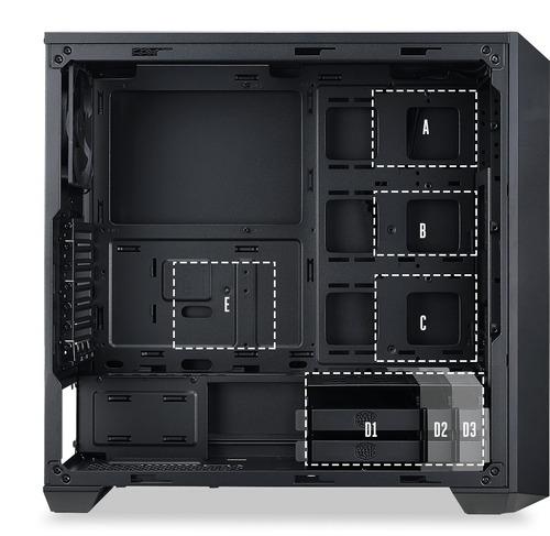 gabinete cooler master master box 5 - cyberia
