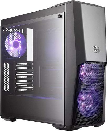 gabinete gamer coolermaster masterbox mb500 + envios gratis