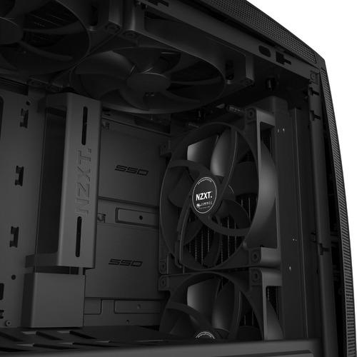 gabinete nzxt manta computer caseblack (ca-mantw-m1)