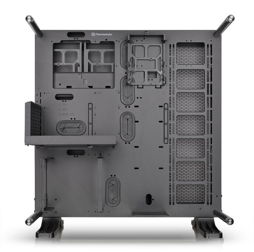 gabinete thermaltake core p5 atx open frame wall mount mid