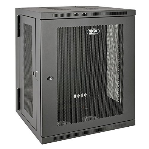 gabinete tripp lite 15u wall mount rack enclosure server